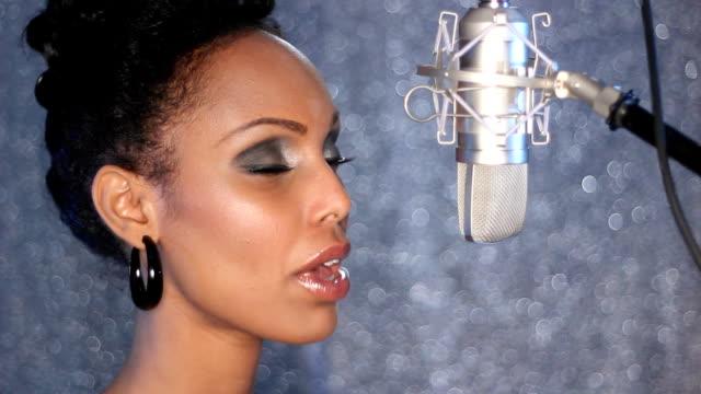 Studio singer. video