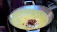 stuffed crispy egg crepe video