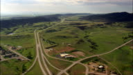 Sturgis  - Aerial View - South Dakota,  Meade County,  United States video