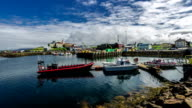 Stykkishólmur Harbour is located in the western part of Iceland, Vesturland region, in the north of the peninsula Snæfellsnes. Iceland video