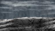 Stylised Oak Bark Hill With Scrolling Sky video