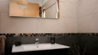 Stylish design of beautiful bathroom video