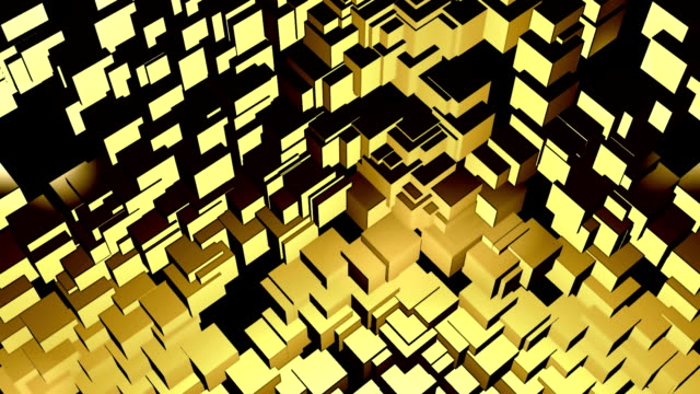 Stylistic Looping Cubes Background video