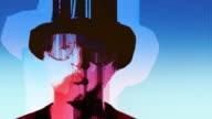 Stylized Rocker Guy UK Hat video