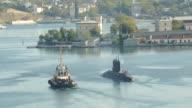 submarine  project 'Black Hole' video