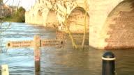 Submerged footpath video