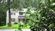 Suburban Home Exterior. video
