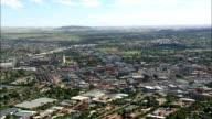 Suburbs Around the City  - Aerial View - Orange Free State,  Mangaung Metropolitan Municipality,  Mangaung,  South Africa video