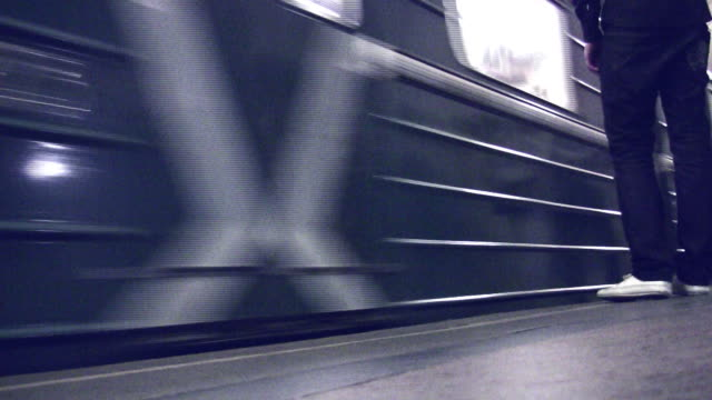 Subway train video