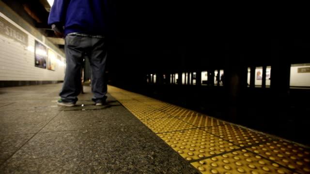 Subway train video