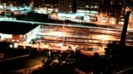 Subway Yard Time Lapse video