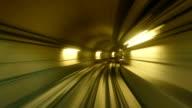 Subway Zoom Tunnel Dubai video
