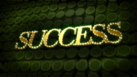 Success Glitter Glitz Sparkle Text video