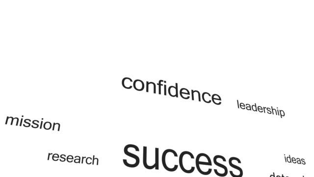 Success Text video