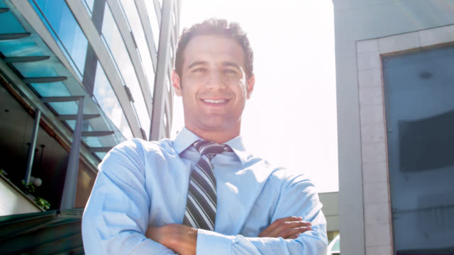 Successful business man video