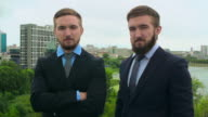 Successful Twin Businessmen video