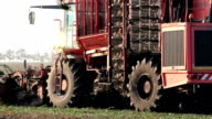Sugar beet harvester video