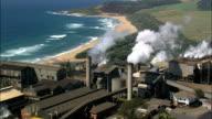 Sugar Cane Refinery  - Aerial View - KwaZulu-Natal,  South Africa video