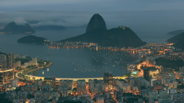 Sugarloaf Mountain Time Lapse in Rio de Janeiro video
