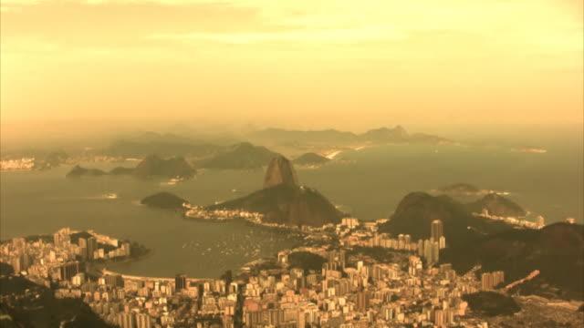 Sugarloaf sunset, Rio de Janeiro, Guanabara Bay (HD, PAL, NTSC) video