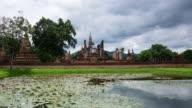 Sukhothai Thailand Time Lapse video