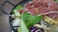 sukiyaki ingredient- korean style video