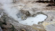 Sulfur Pots and Fumes Glacier National Park video