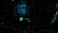 Sulphur/Wynnewood, OK Tornado Doppler Radar Animation video