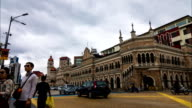 KUALA LUMPUR, MALAYSIA - FEBUARY, 2016: Sultan Abdul Samad Building at Merdeka Square. Sultan Abdul Samad Building is office of the Ministry of Information, Communication and Culture of Malaysia video