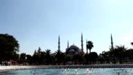 Sultan Ahmet/ Blue Mosque Istanbul TURKEY video