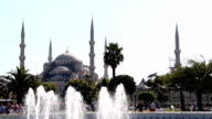 Sultan Ahmet/ Blue Mosque Istanbul TURKEY video