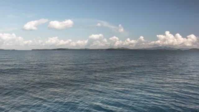 summer blue sea video