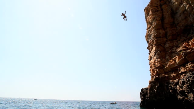 Summer Cliff Diving video