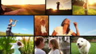 Summer freedom montage video