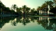 Summer morning in Salou, Spain, Europe video