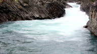 Summer mountain river (Norway) video