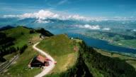 Summer time in Rigi Kulm and Pilatus mountain video