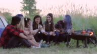 Summertime Camping with Friends video