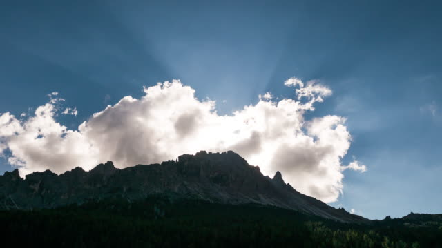 Sun Beam Over Mountain video