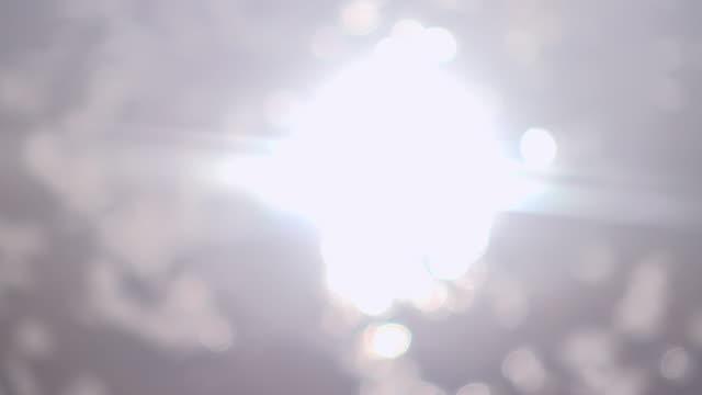Sun Flare On Water II 4K video
