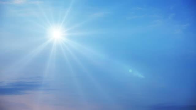Sun in the sky video