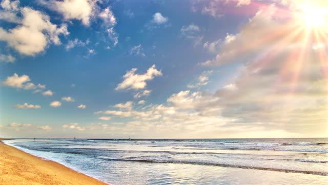 Sun opposite beach video