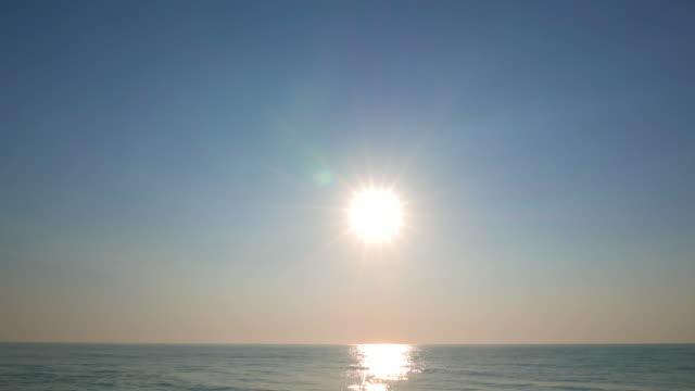 Sun set time lapse video