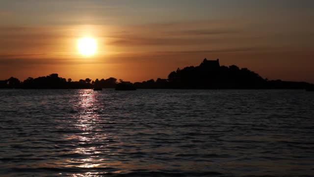 sun set video