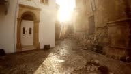 Sun Shines Between Selimiye Mosque and House video