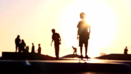 Sun Skateboard Soft Focus video