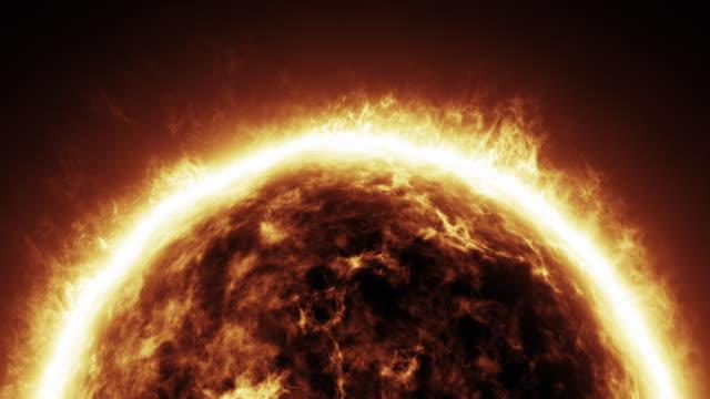 Sun space video