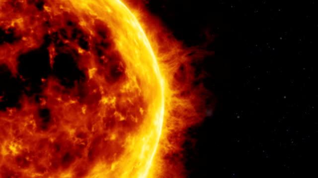 Sun surface video