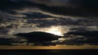 sun through the clouds video
