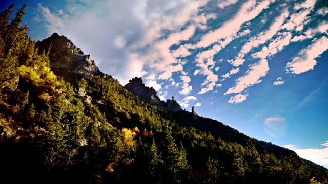 Sun-Dappled Mountain video